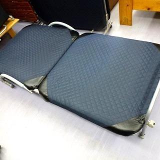 手稲リサイクル 折りたたみ式シングルベッド リクライニング付き 中古 ⑤