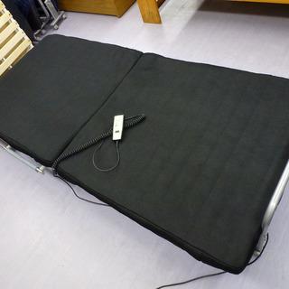 手稲リサイクル 電動リクライニング式折りたたみシングルベッド 多少...