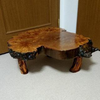 和風アンティーク家具 一枚板座卓