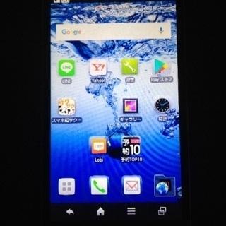 Android docomoXi SH-10dオレンジ