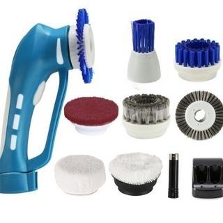 新品✨多機能電動掃除ブラシ