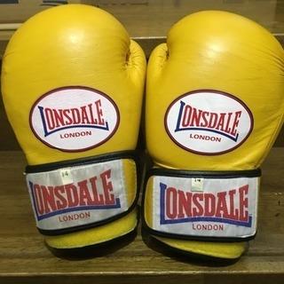 LONSDALE/ロンズデール ボクシング グローブ 黄色