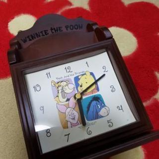 アンティーク調ぷーさん鍵入れ&時計🎵