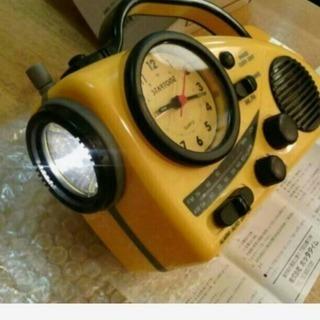 時計・ライト・ラジオ・防災用品/新品未開封品。