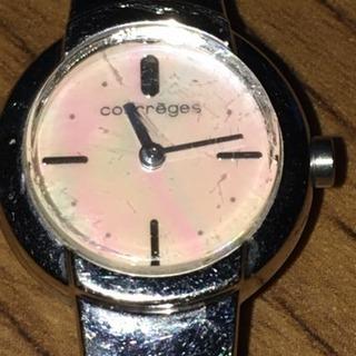 中 179 Courreges クレージュ レディースウォッチ 腕時計