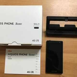 au AQUOS PHONE Serie SHL21 ブラック