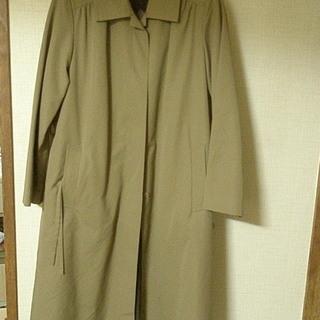 フード毛皮付ロングコート 大きいサイズ15号 3L  取外し可能...