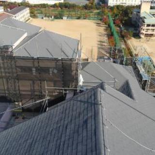 屋根工事です。