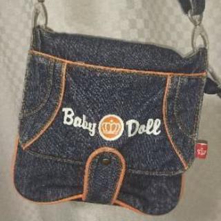 『値下げ💴⤵』Baby Doll  デニムポシェット👜