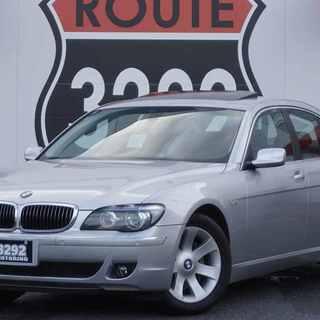 【誰でも車がローンで買えます】H18 BMW 740i シルバー ...