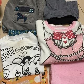 女の子 100〜120センチ 秋冬物メイン
