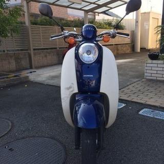 原付きバイク(スクーピー)