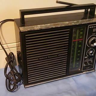 ナショナル RE-695 ラジオ 中古品