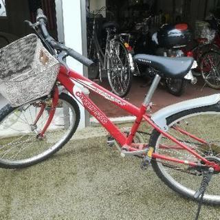 無料 子供用自転車 ギア付き 24インチ