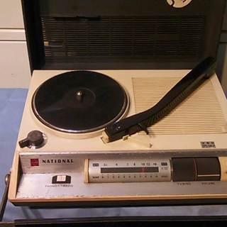 ナショナル  携帯レコードプレイヤー MODEL SF-560