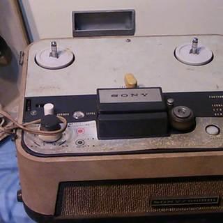 SONY テープコーダー TC-102 動作未確認