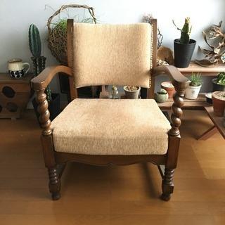 値下げ!イギリス製アンティーク椅子