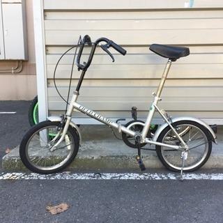 16インチ 折りたたみ自転車 ジャンク