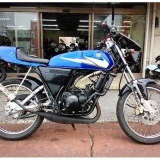 ヤマハ NO.1588 RZ50 水冷2サイクルエンジン チャンバ...