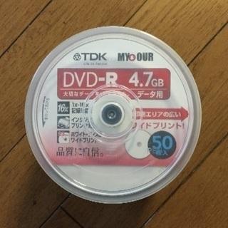 DVD-R 4.7GB データ用 ホワイトレーベル