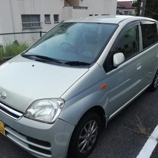 【走行4万km】H18年式 ミラ マニュアル車(5MT) 社外アル...