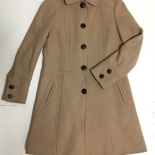 キャメル色 ロングコート