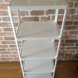 [家具]収納棚②(プラスチック:白色)