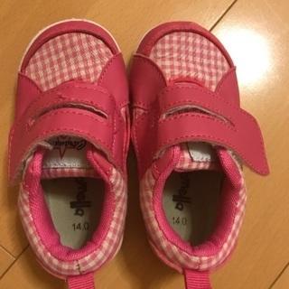 子供 靴 14cm
