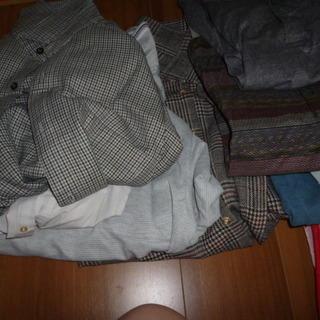 紳士シャツ厚手ジャケットベスト他色々あげます新品あり