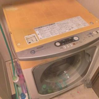 17日まで。無料。ドラム式洗濯機7kg 乾燥あり。故障ありますが洗...