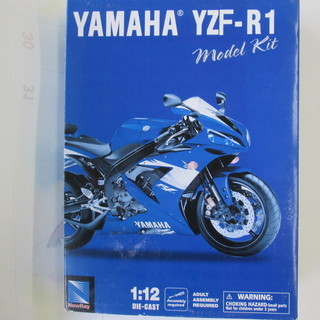 お譲りします~◆ヤマハ・YZF-R1◆プラモデル◆新品!