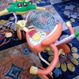 プーさん 子供用三輪車