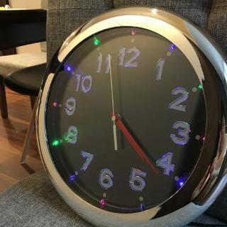 イルミネーション壁掛け時計 ヴィレッジヴァンガード  ビレバン