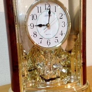 シチズンスワロフスキー置き時計 新品未使用