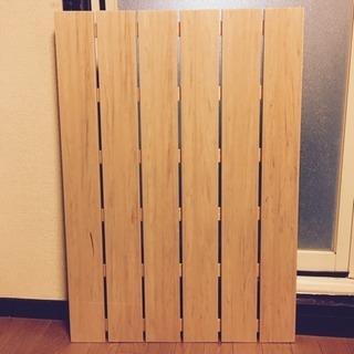 未使用‼️ 木の風合い 風呂 すのこ 幅85・奥行60 樹脂製でお...