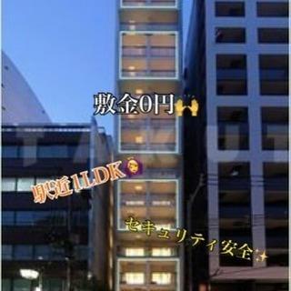 敷金0円✨ 駅近安全1LDK🙆