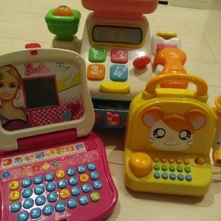 女の子おもちゃ レジスター カラオケマイク パソコン