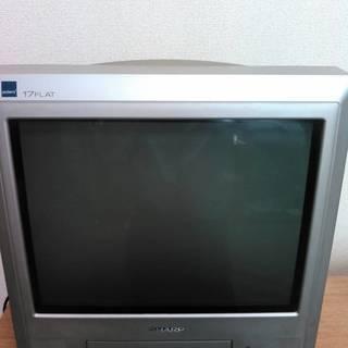 シャープ カラーテレビ (テレビデオ) VT-17V6-JB