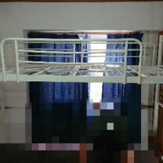 【終了】ロフトベッド シングル 組み立て 高さ調節できる