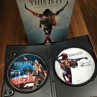 マイケル・ジャクソン THIS IS IT DVD 2枚組