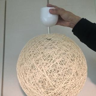 ボール型ランプシェード