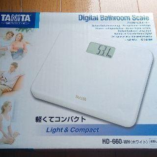 タニタ デジタルヘルスメーター HD-660-WH[新品・未開封]