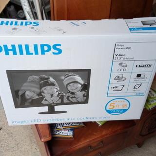 フィリップス21.5型液晶ディスプレイ未使用品