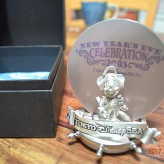 【非売品】ディズニーシー カウントダウン2003 記念フォトスタンド