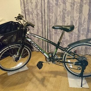 自転車 ジュニア 20インチ 6段変速