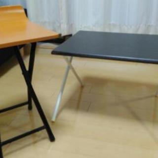 椅子とミニ折りたたみテーブルまとめてお譲りします