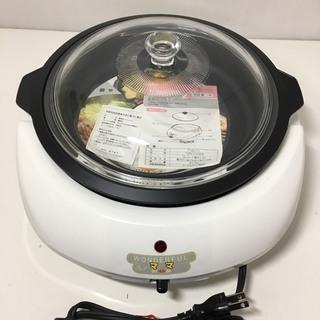 未使用品 電気グリルパン ワンダフルママ 焼く 煮る 炒める 調布市