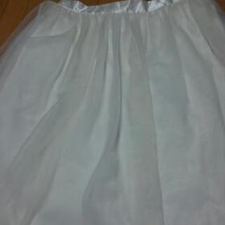 白のスカート  3L