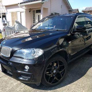 豪華マッチョ!BMW X5 オバフェン21インチ、茶革、オートト...
