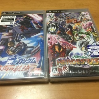 PSPソフト新品2本セット